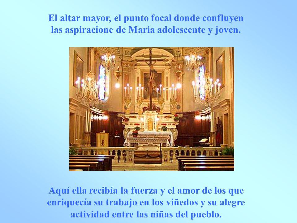 tabernáculo El tabernáculo : punto de referencia del encuentro matinal y vespertino con Cristo y centro de toda su existencia.