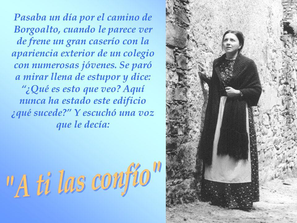 El 7 octubre de 1864 don Bosco llegó a Mornese Las Hijas de la Inmaculada estaban felices, pero ninguna como Maria que a todas decía: Don Bosco es un santo y yo lo siento.