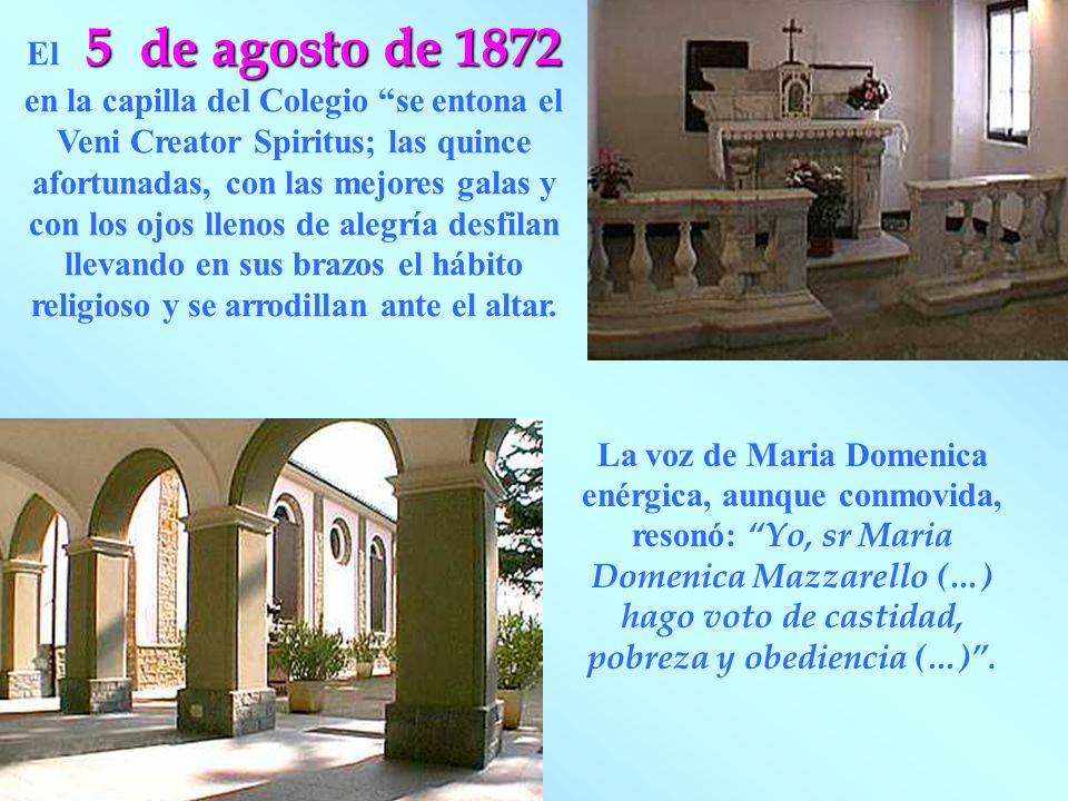 Don Bosco hizo la homilia: Todo lo que somos y hemos hecho de bien se lo debemos a Maria Auxiliadora.