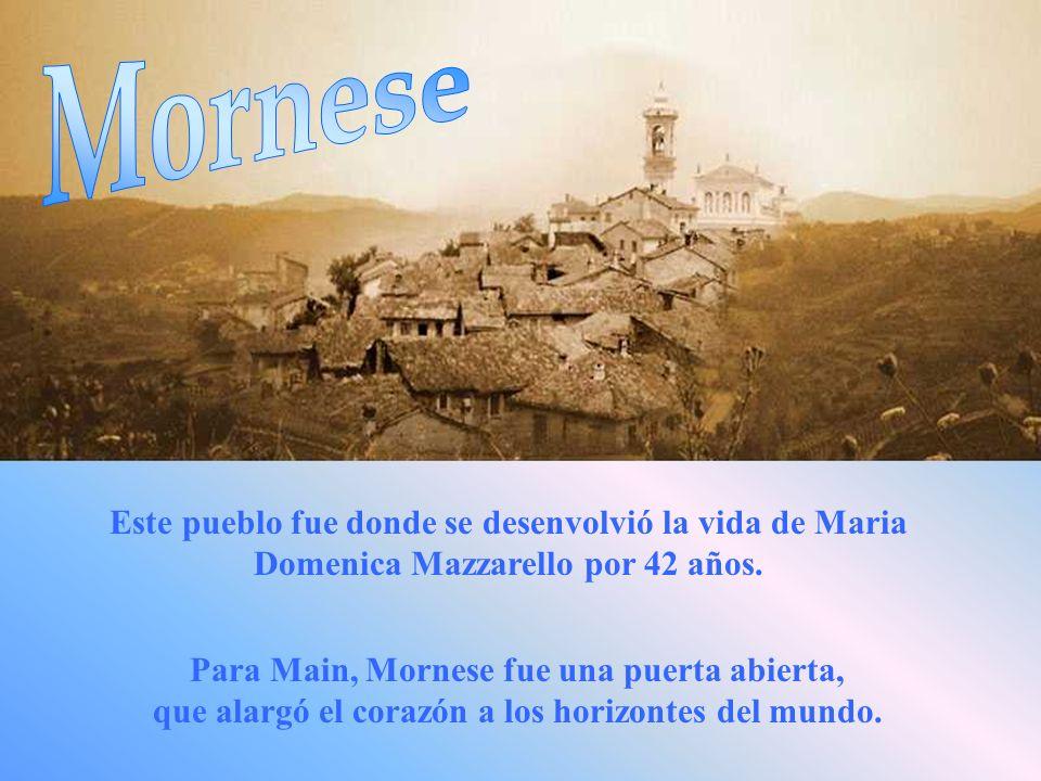 En este lugar, sumergido en el silencio, en el verde de las viñas, Maria Domenica, vivió intensamente su juventud.