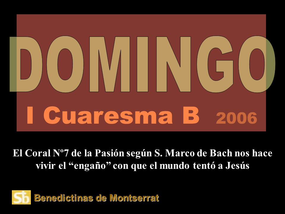 Señor Jesús, haz que seamos fieles a la nueva ALIANZA, que, venciendo el mal, has atado entre el cielo y la tierra