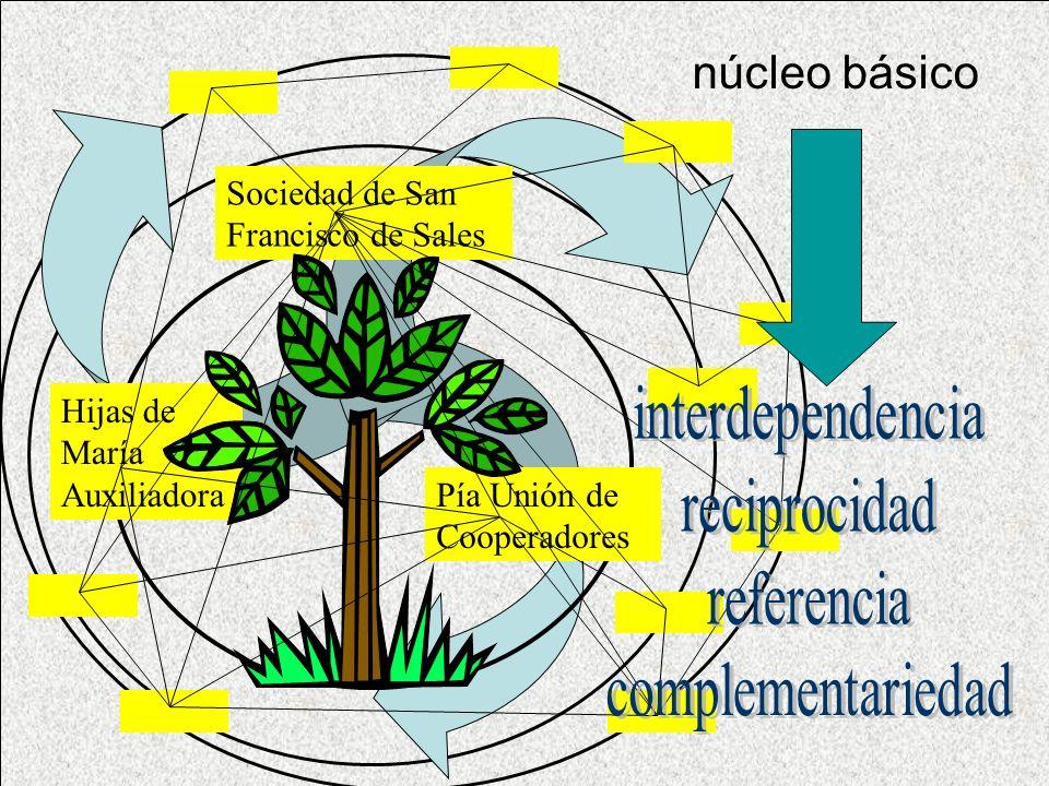 núcleo básico Sociedad de San Francisco de Sales Pía Unión de Cooperadores Hijas de María Auxiliadora