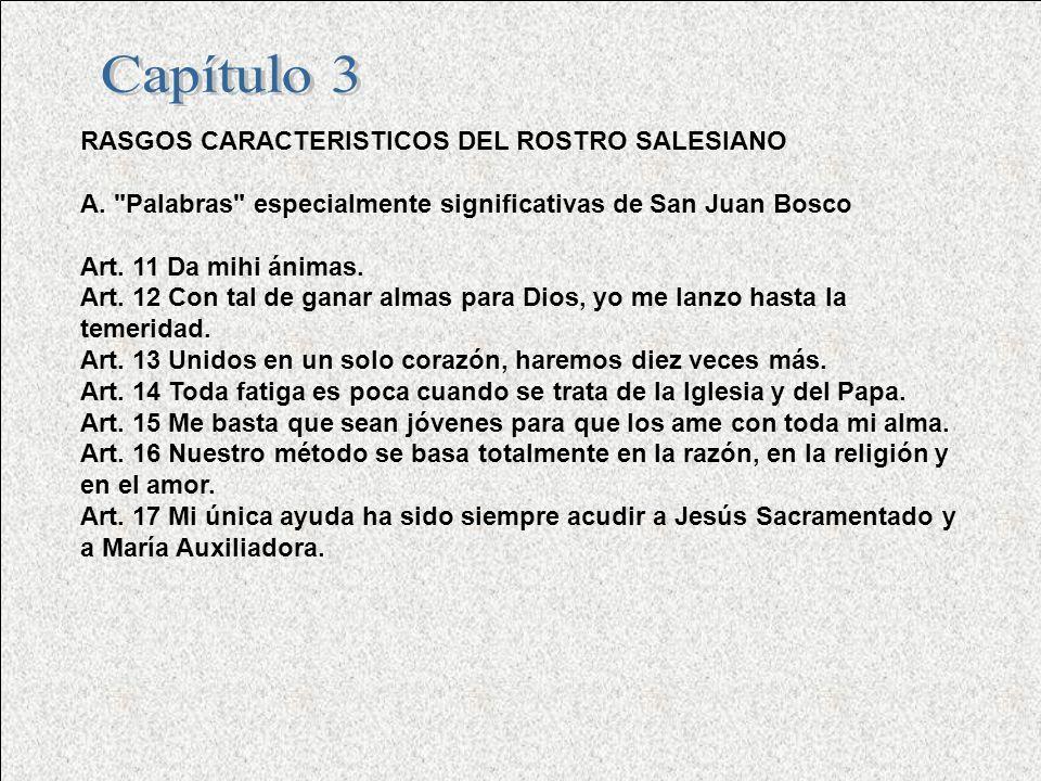 RASGOS CARACTERISTICOS DEL ROSTRO SALESIANO A.