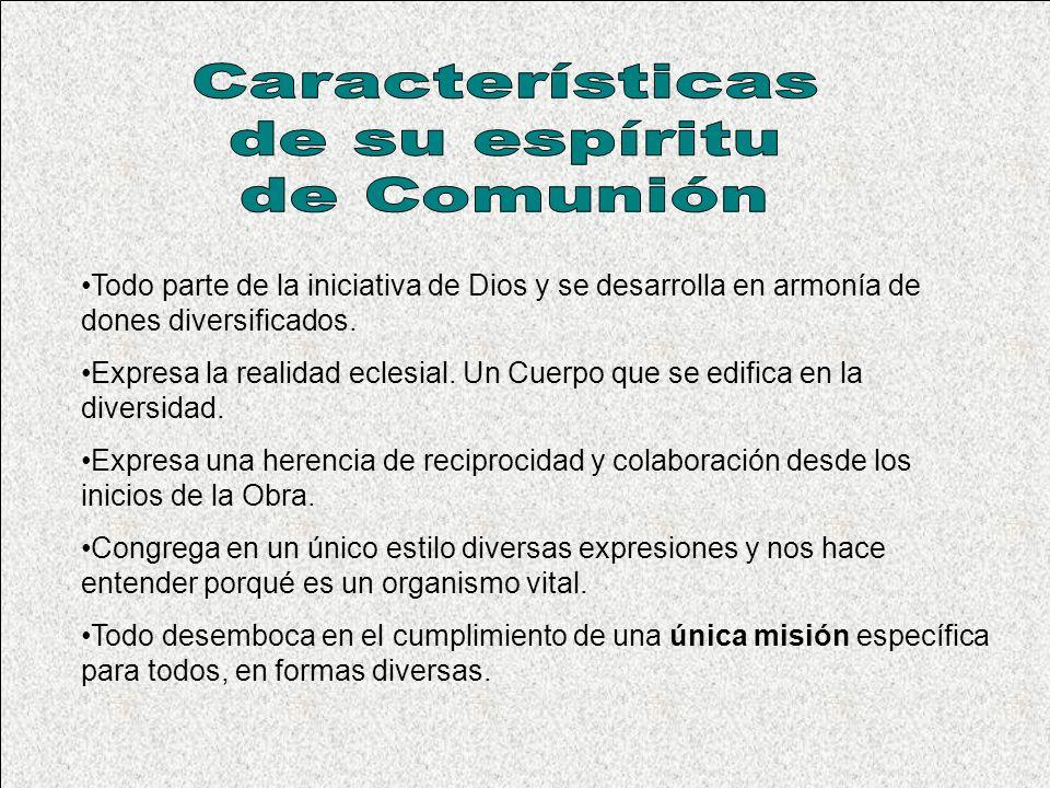 SERVICIOS DE COMUNION Art.35. La comunión exige fidelidad al propio grupo..