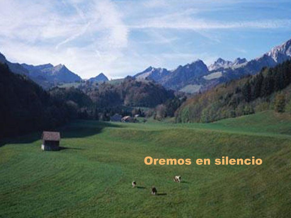 Oremos en silencio