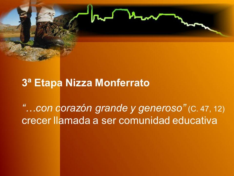 3ª Etapa Nizza Monferrato …con corazón grande y generoso (C.