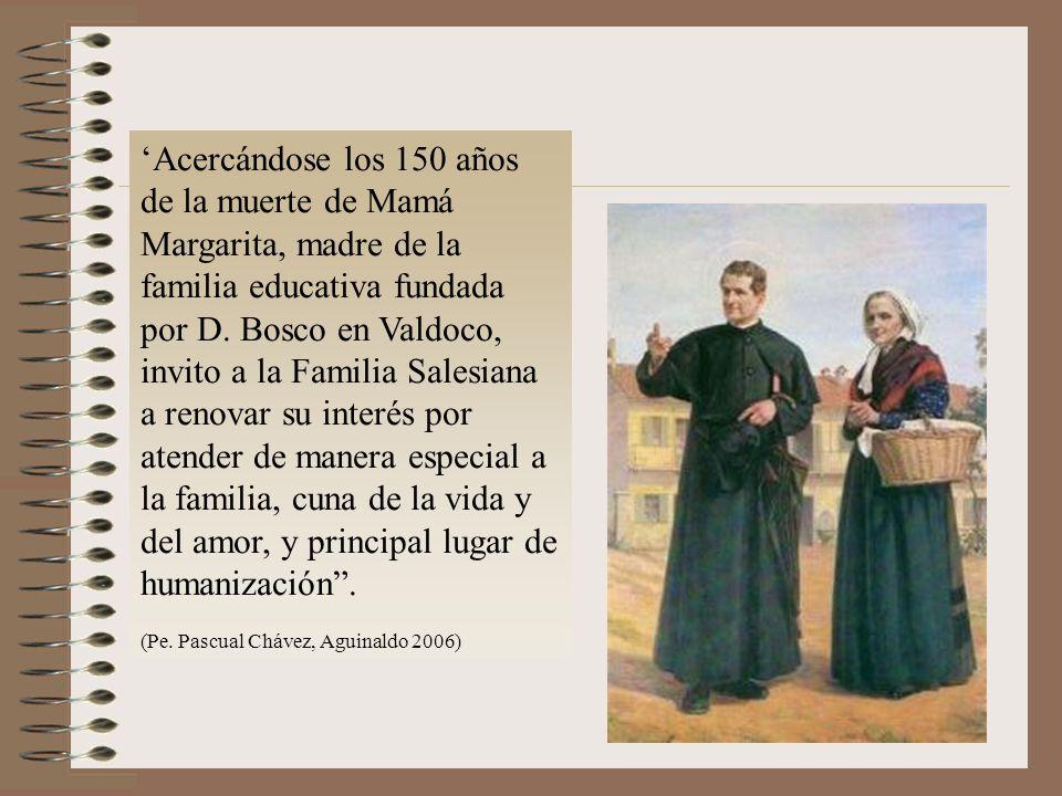 Acercándose los 150 años de la muerte de Mamá Margarita, madre de la familia educativa fundada por D.