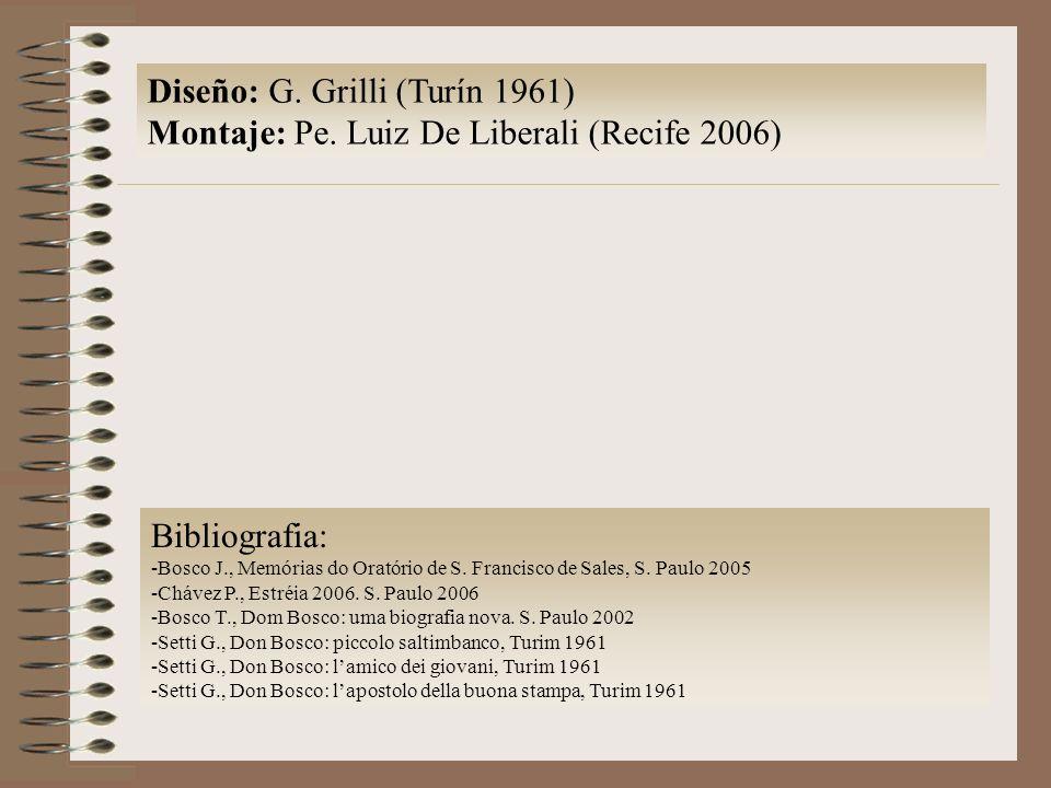 Diseño: G.Grilli (Turín 1961) Montaje: Pe.