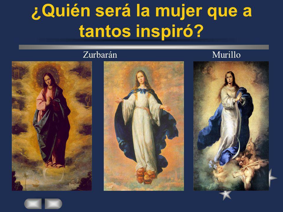 ¿Quién será la mujer que a tantos inspiró? ZurbaránMurillo