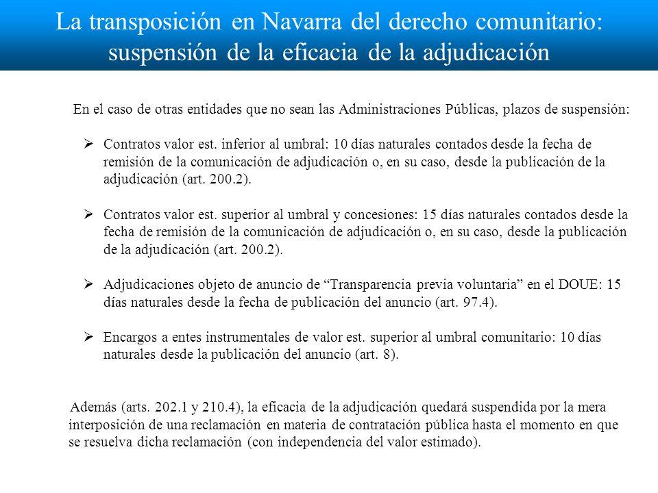 Interposición de la reclamación: efectos Art.210.