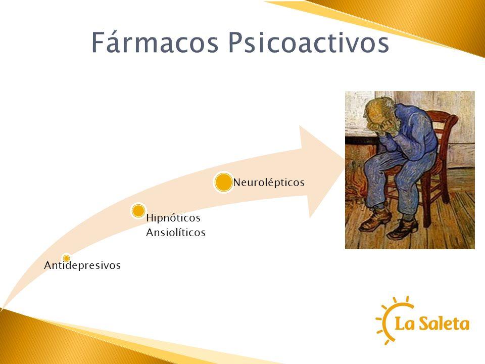 Fármacos Psicoactivos Antidepresivos Hipnóticos Ansiolíticos Neurolépticos