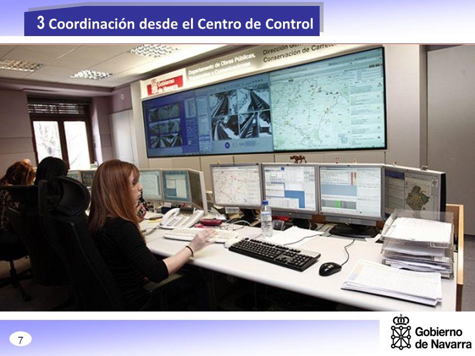 » Recogida de información en tiempo real del estado de la red (personal desplazado, cámaras…) 24 horas, 365 días sobre los 3.828 Km de la Red de Carreteras de Navarra.