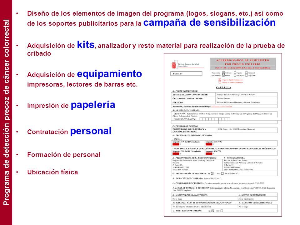 Diseño de los elementos de imagen del programa (logos, slogans, etc.) así como de los soportes publicitarios para la campaña de sensibilización Adquis