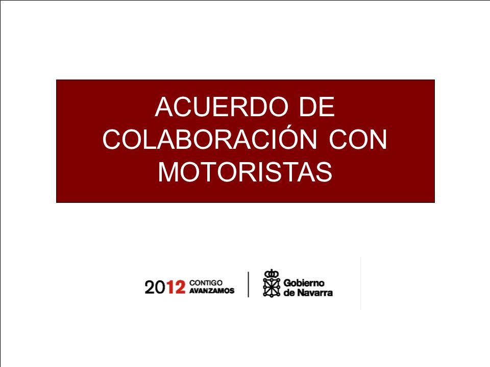 ACUERDO DE COLABORACIÓN CON MOTORISTAS