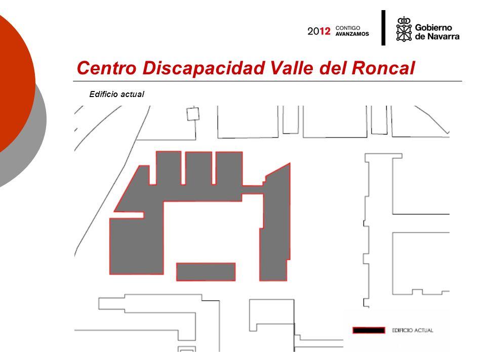 Centro Discapacidad Valle del Roncal Edificio actual