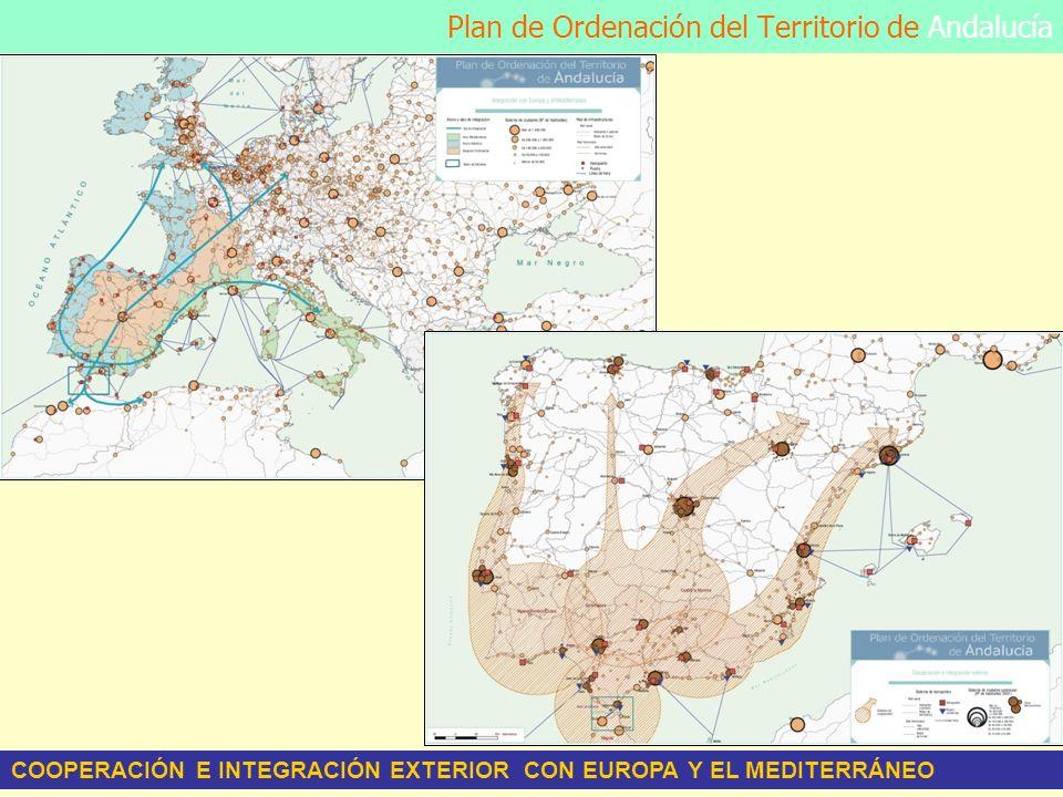 Plan de Ordenación del Territorio de Andalucía COOPERACIÓN E INTEGRACIÓN EXTERIOR CON EUROPA Y EL MEDITERRÁNEO
