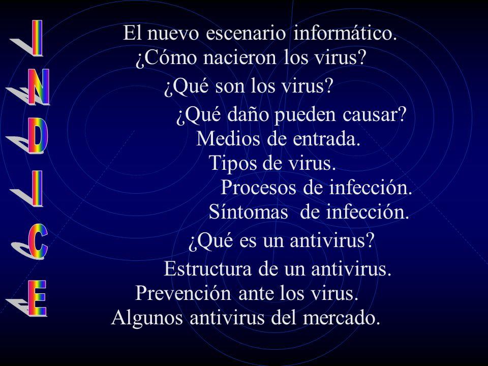 Los Virus ¡Socorroooooo! ¡Estoy infectado!