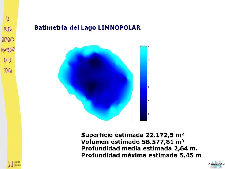 Cuando el lago está congelado se estima un incremento del 121% con respecto al volumen normal del lago