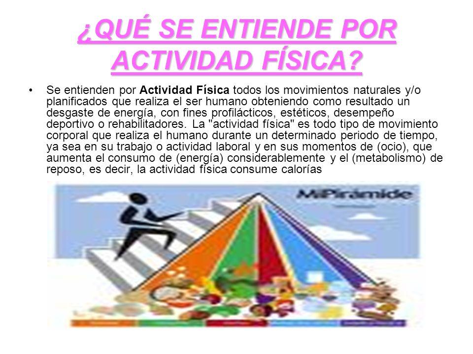 CLASIFICACIÓN El ejercicio físico es la actividad física recreativa, que se realiza en momentos de ocio o de tiempo libre, es decir fuera del trabajo o actividad laboral.