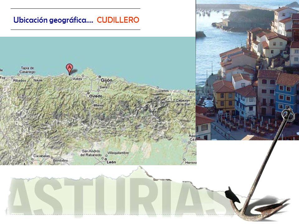 Ubicación geográfica…. CUDILLERO