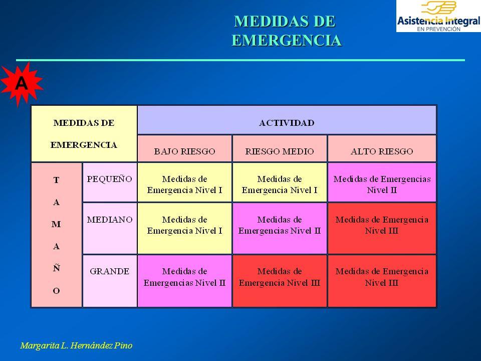 Margarita L. Hernández Pino MEDIDAS DE EMERGENCIA A