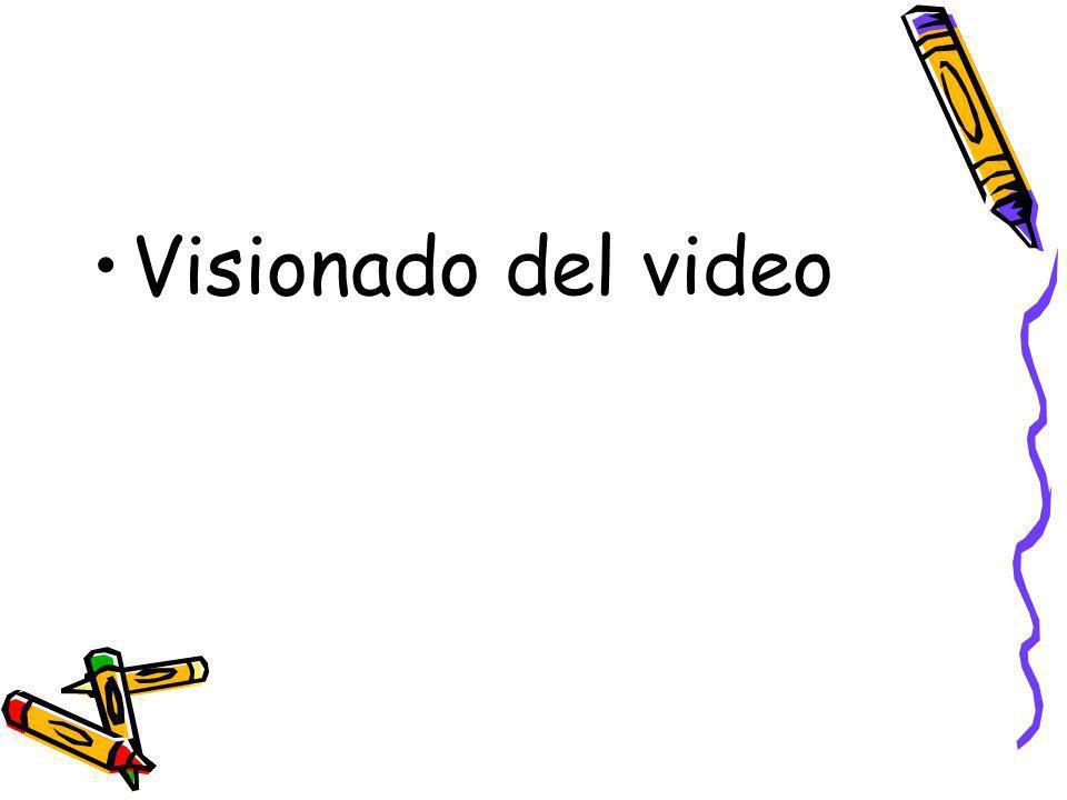 Visionado del video