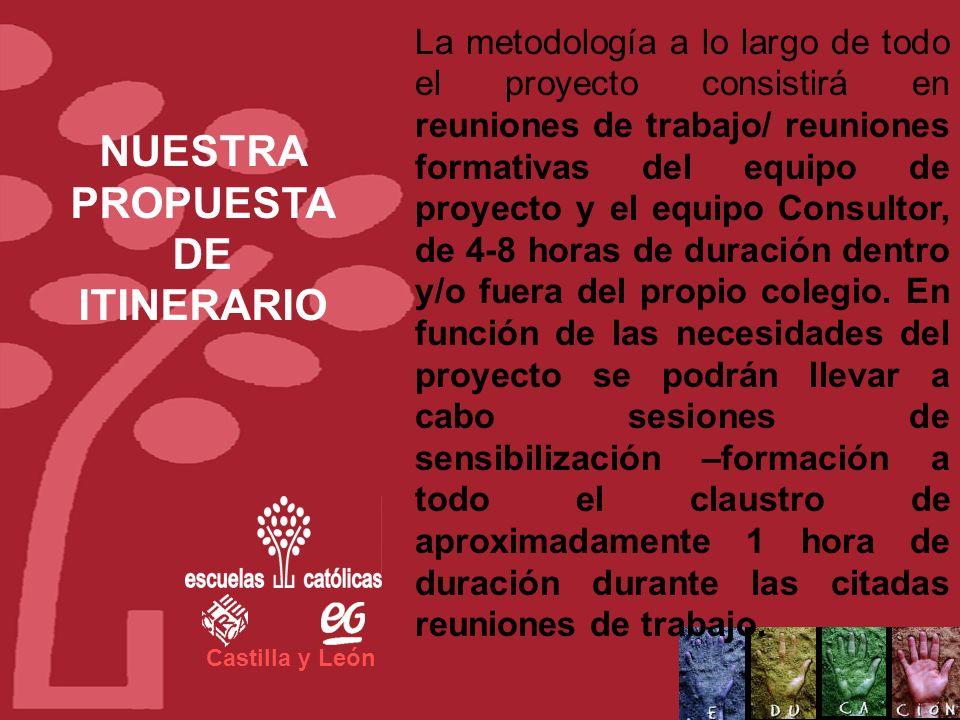 Castilla y León El objetivo es definir un itinerario de actuaciones para el fomento de la Excelencia utilizando el modelo EFQM. Se trata de una propue