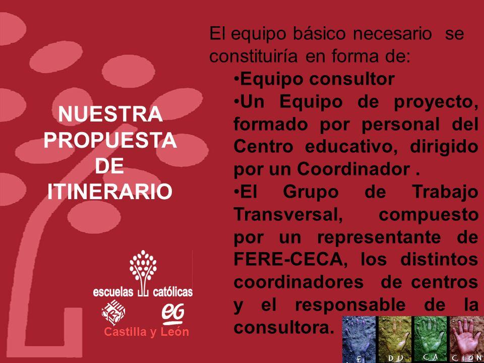 Castilla y León El proyecto se organizará de forma que los centros participantes maximicen el uso de las bonificaciones de la Fundación Tripartita a l