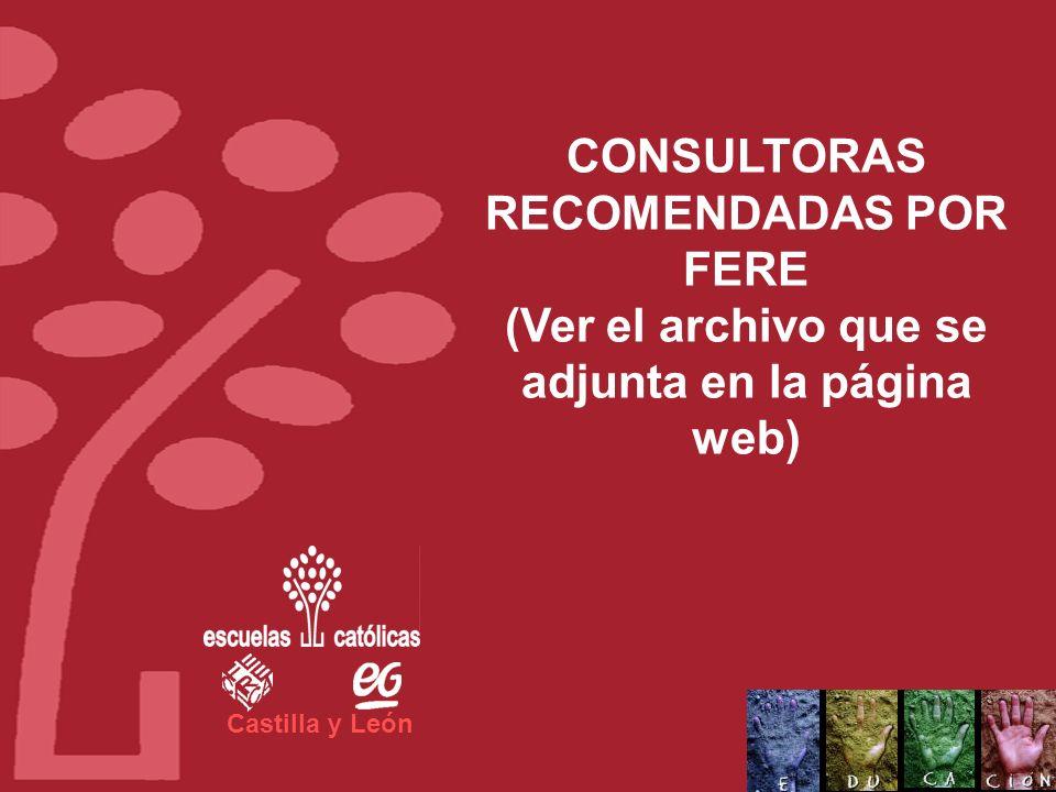 Castilla y León Proponemos que los centros se autofinancien a través del crédito de formación (todas las actividades, por tanto, deberán ser facturada