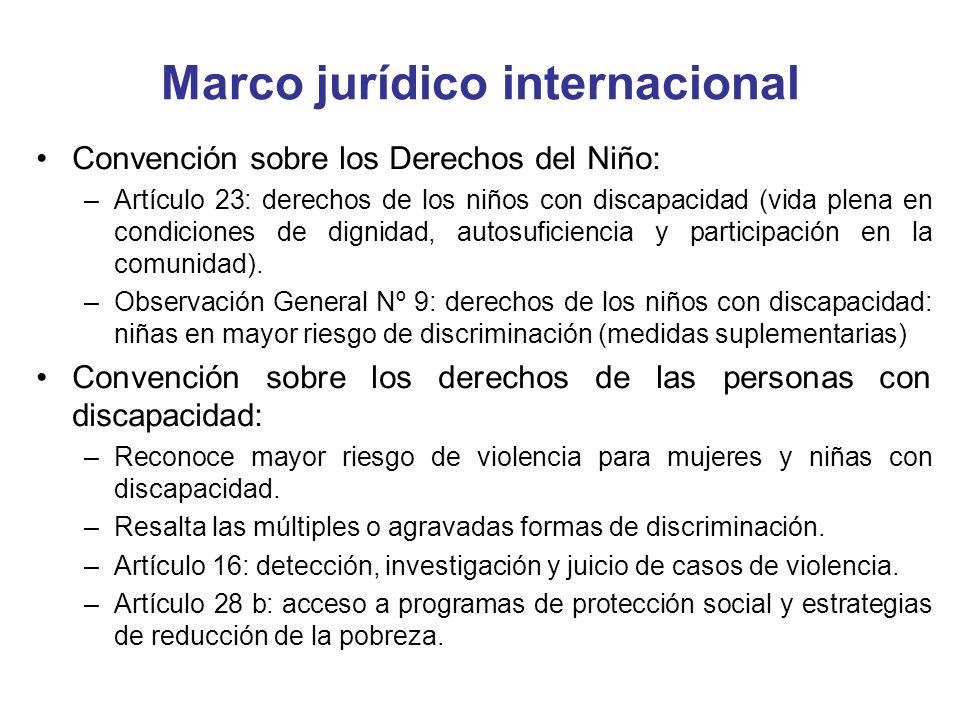 Investigación y enjuiciamiento Falta de información por parte de los Estados con respecto a enjuiciamiento y castigo en casos de violencia.