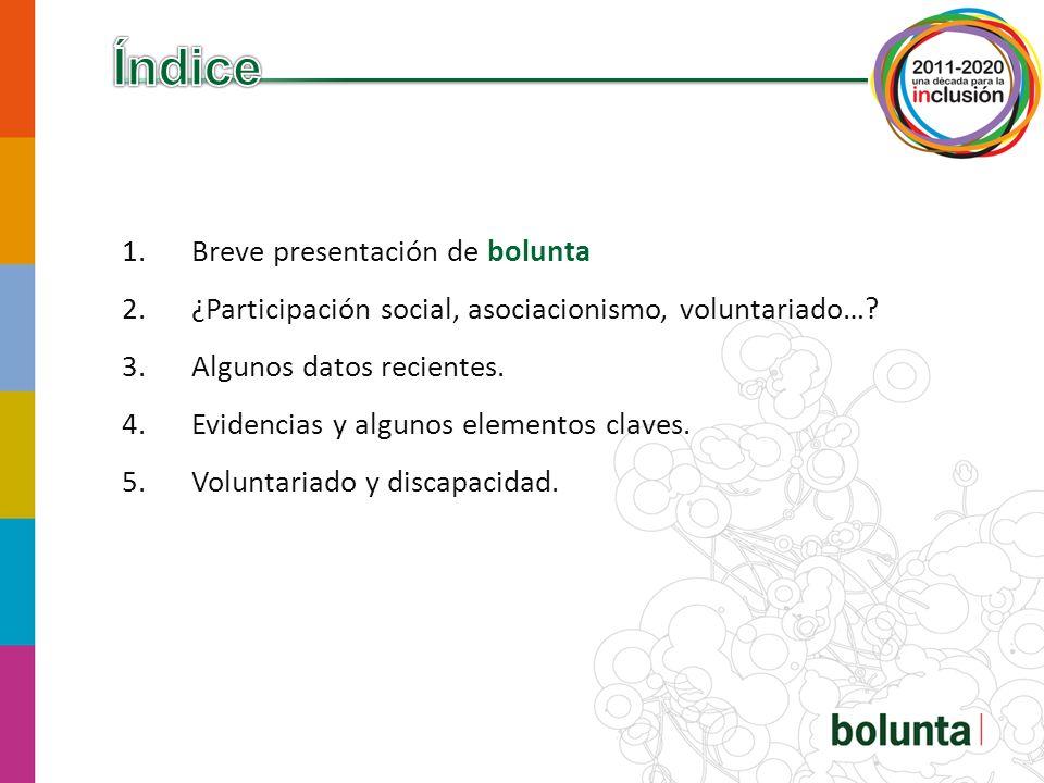 bolunta Agencia para el voluntariado y la participación social de Bizkaia.