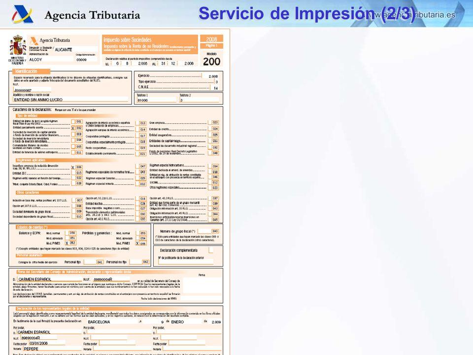 DIT – S.G. Aplicaciones Servicio de Impresión (2/3)