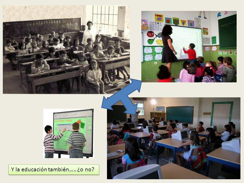Y la educación también….. ¿o no?