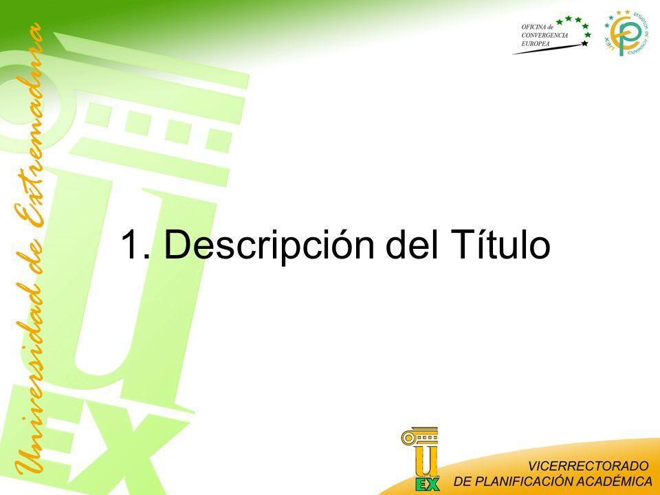 Garantía de calidad Elaborado por la UEx.Criterios específicos de suspensión del título.