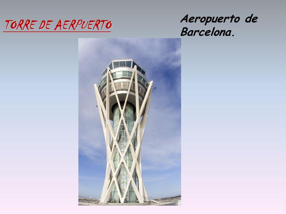Aeropuerto de Barcelona. TORRE DE AERPUERTO