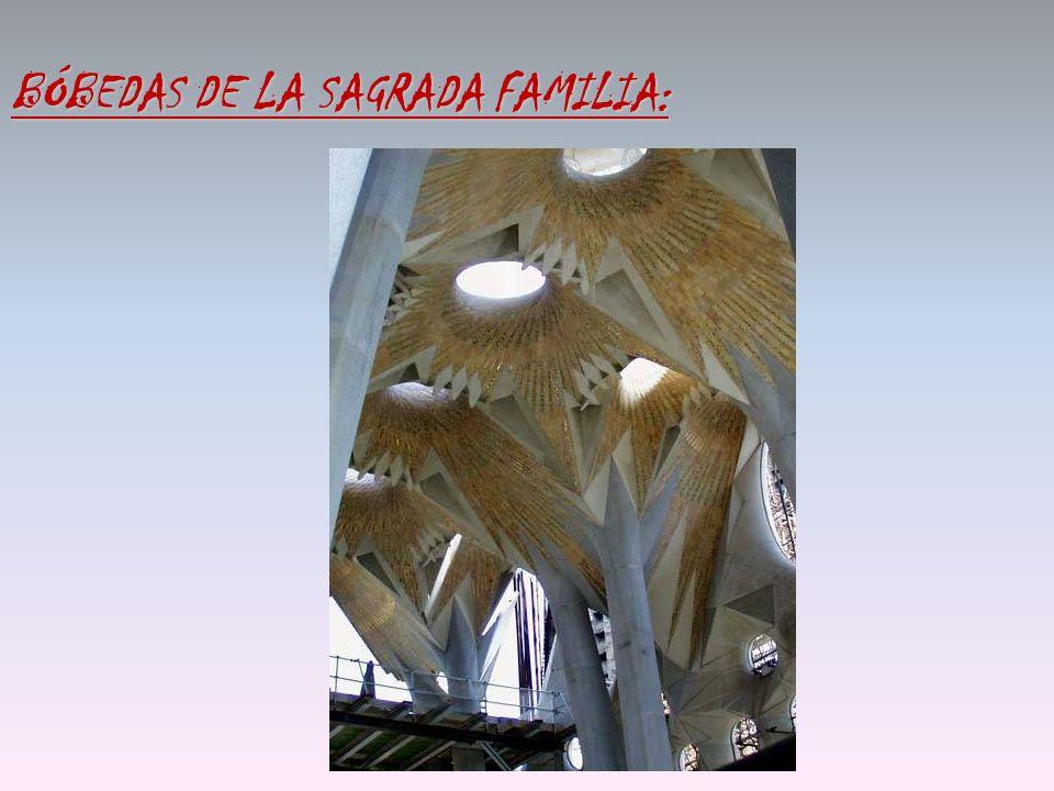 BÓBEDAS DE LA SAGRADA FAMILIA: