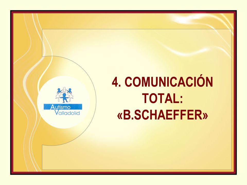 4. COMUNICACIÓN TOTAL: «B.SCHAEFFER»
