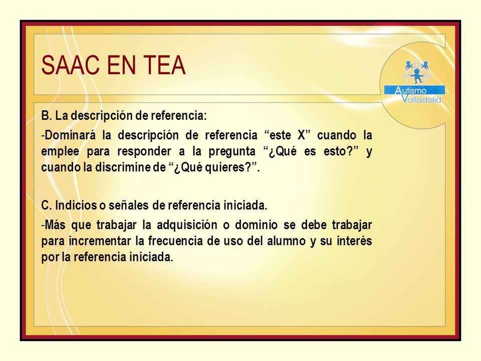 SAAC EN TEA B.