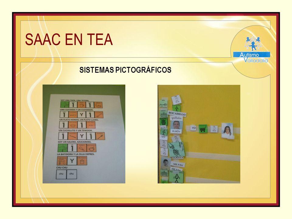 SAAC EN TEA SISTEMAS PICTOGRÁFICOS