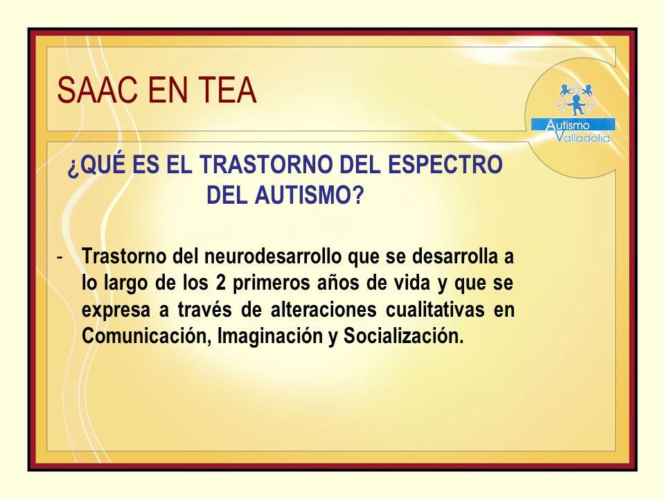 SAAC EN TEA «FASE I» PANEL CON 1 REFORZADOR