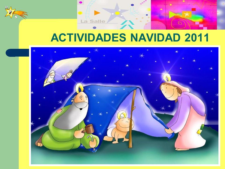 ACTIVIDADES NAVIDAD 2011 PROYECTO POSTALES PROYDE.