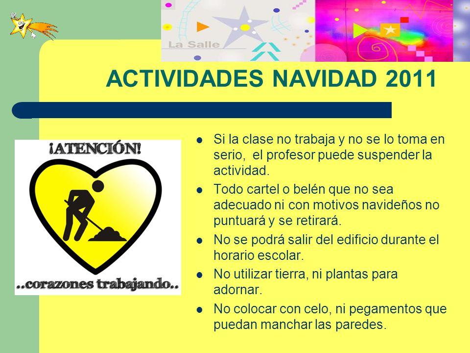 ACTIVIDADES NAVIDAD 2011 RELATO, CÓMIC o RAP.
