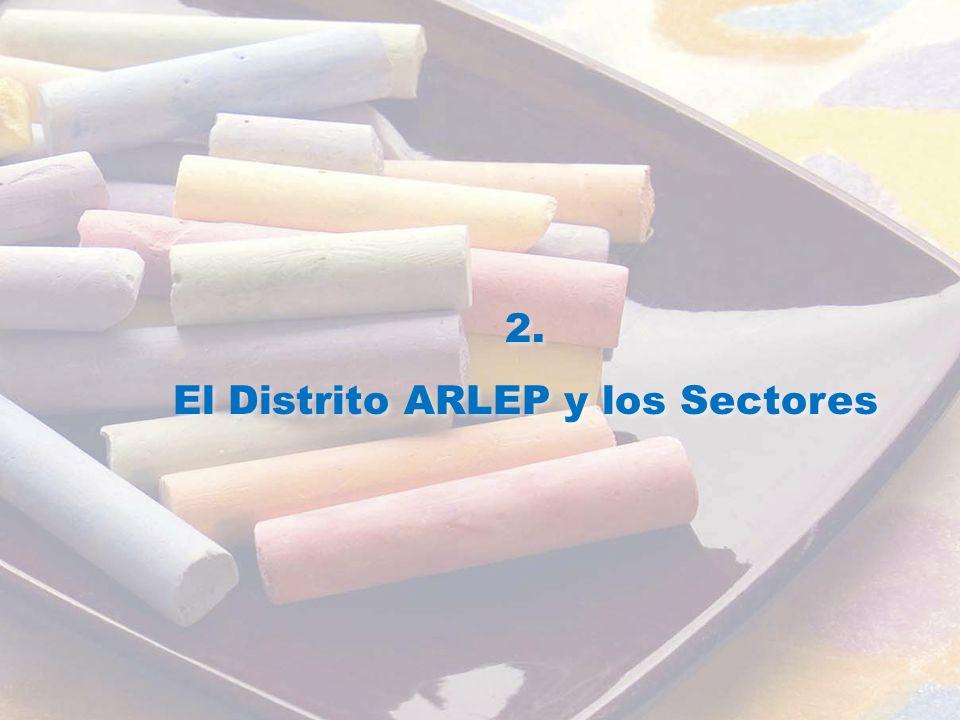 2. El Distrito ARLEP y los Sectores 2. El Distrito ARLEP y los Sectores