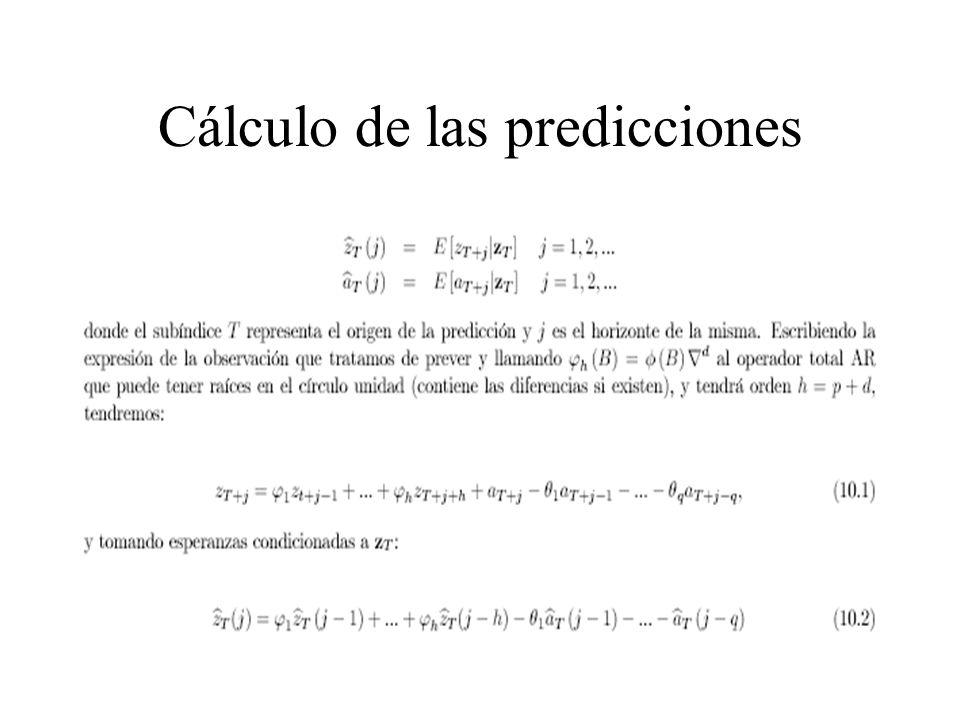 La ecuación de predicción final