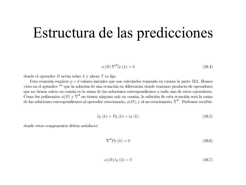 Varianza de las predicciones