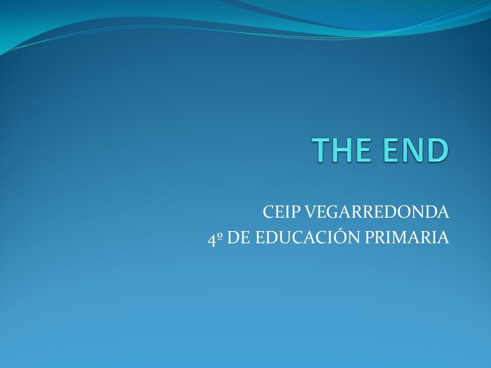 CEIP VEGARREDONDA 4º DE EDUCACIÓN PRIMARIA
