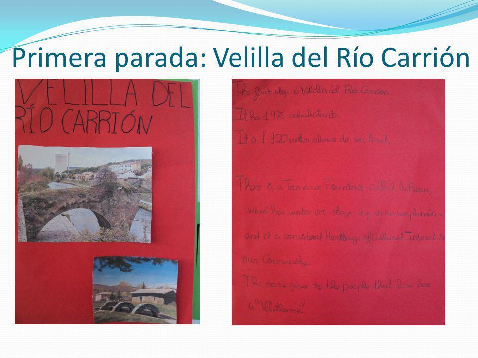 Primera parada: Velilla del Río Carrión