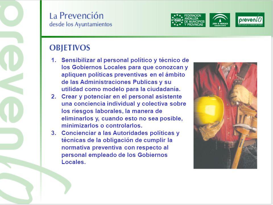 4.Presentar la prevención como una inversión desde la óptica de la optimización y eficacia de los recursos humanos, más que como un coste.