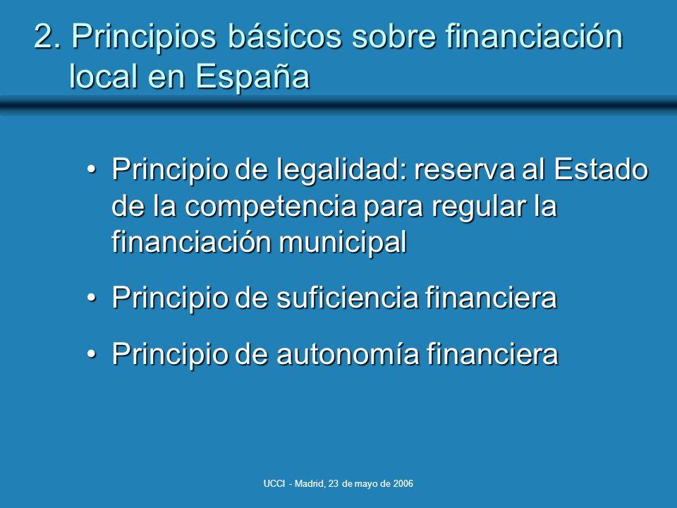 UCCI - Madrid, 23 de mayo de 2006 2.