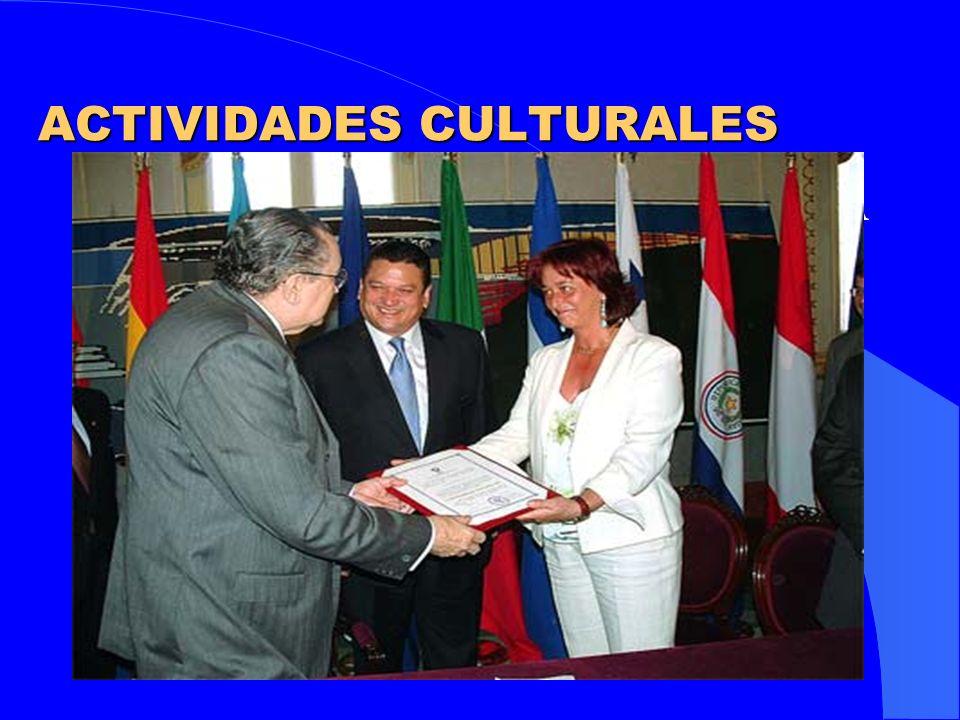 ACTIVIDADES DE INTERCAMBIO DE EXPERIENCIAS Y FORMACIÓN ENCUENTROS, JORNADAS Y SEMINARIOS Encuentros de Bomberos Municipales y Regionales Iberoamericanos Encuentro sobre Economía Informal.